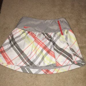 Nike golf skirt with shorts under